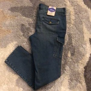 NWT Old Navy denim cargo style jeans